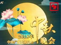 2018中央一台中秋晚会的海报图片